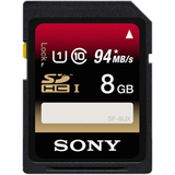 Sony SF8UX/TQ 8 GB Secure Digital High Capacity (SDHC) - 1 Card/1 Pack - SF8UXTQ