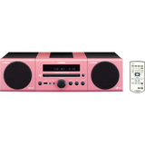 Yamaha MCR-040 Micro Hi-Fi System - 30 W RMS - iPod Supported - Pink