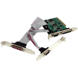 StarTech.com 2S2P PCI Serial Parallel Combo Card with 16C1050 UART - PCI2S2PMC