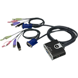 Aten 2- Port USB KVM Switch with File Transfer CS62T