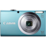 Canon PowerShot A2400 IS 16 Megapixel Compact Camera - Blue 6190B005