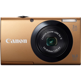 Canon PowerShot A3400 IS 16 Megapixel Compact Camera - Gold 6187B005
