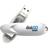 EDGE DiskGO Secure 16 GB USB 2.0 Flash Drive - EDGDM231064PE