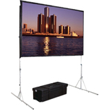 "Da-Lite Fast-Fold Deluxe Manual Projection Screen - 170.8"" - 16:10 - Portable 38307"
