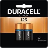 DURDL123AB2PK - Duracell Ultra Lithium Photo Battery