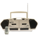 Califone 6W Dual Cassette/CD Via Ergoguys