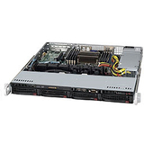 Supermicro SuperServer 5017R-MTF Barebone System - 1U Rack-mountable - Intel C602 Chipset - Socket R LGA-2011 - 1 x Processor Support - Black