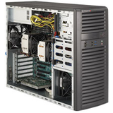 Supermicro SuperWorkstation 7037A-i Barebone System Mid-tower - Intel - SYS7037AI