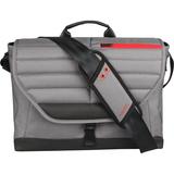 """Altego Channel Stitched Ruby 15"""" Laptop Messenger Bag"""