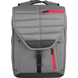 """Altego Channel Stitched Ruby 17"""" Laptop Backpack"""