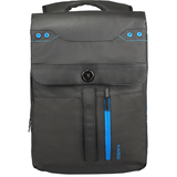 "Altego Coated Canvas Cyan 17"" Laptop Backpack"