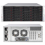 Supermicro SuperServer 6047R-E1R24N Barebone System - 4U Rack-mountable - Intel C602 Chipset - Socket R LGA-2011 - 2 x Processor Support - Black - 768 GB Maximum RAM Support - Serial ATA/600, Serial Attached SCSI (SAS) RAID Supported Controller - Matrox G