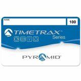 Pyramid TimeTrax Swipe Card (#51-100)