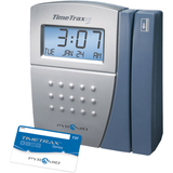 Pyramid TimeTrax EZ Swipe Card Time Clock System TTEZ
