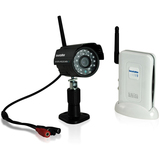 SecurityMan Digital Wireless Outdoor/Indoor Color Camera Kit with Audi - DIGIOUTAIR