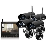 SecurityMan 4-Channel Digital Wireless Security System DIGILCDDVR4