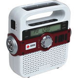American Red Cross AM/FM Weather Alert Radio with USB Cell Phone Charger