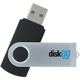 EDGE DiskGO Secure C2 8 GB USB 2.0 Flash Drive - EDGDM231057PE