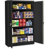 Tennsco Black Jumbo Storage Cabinet