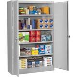 Tennsco Light Gray Jumbo Storage Cabinet