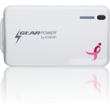 Iogear Mobile Power Station 4400 for Smartphones and Tablets (Susan G. Komen Edition)
