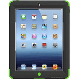 Trident Kraken AMS Carrying Case (Holster) for iPad - Green - AMSNEWIPADTG