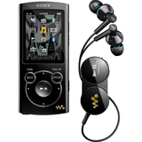 Sony Walkman NWZS764BTB 8 GB Black Flash Portable Media Player NWZS764BTB