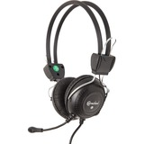 Connectland Computer/Audio Headset with Microphone, Over the Head, On the Ear