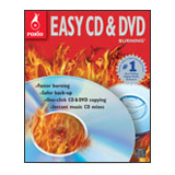 Corel Easy CD & DVD Burning 2011 - Complete Product - 1 User - Standard for PC