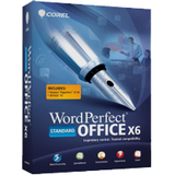 Corel WordPerfect Office v.X6 Standard Edition - Upgrade Package - 1 U - WPX6STDEMBUAM