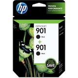 HP 901 2-Pack Black Officejet Ink Cartridges - CZ075FN