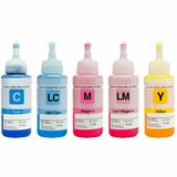 Aleratec RoboJet AutoPrinter Ink, Color 5-Pack (C, M, Y, LC, LM)