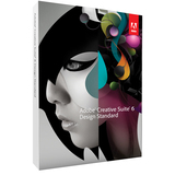 Adobe Creative Suite v.6.0 (CS6) Design Standard - Media Only - 1 User 65163479