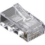 Black Box CAT5e Value Line Modular Plug, Unshielded, 100-Pak