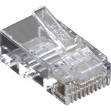 Black Box CAT6 Value Line Modular Plug, Unshielded, 50-Pak