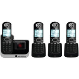 Motorola L804 Cordless Phone - 1.90 GHz - DECT 6.0 - Black - L804