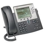 Cisco Unified 7962G IP Phone - Wall Mountable, Desktop - Dark Gray, Silver CP-7962G=