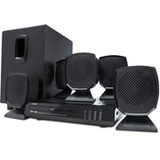Coby DVD760 5.1 Home Theater System - 45 W RMS - DVD Player - Black DVD760