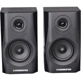 Manhattan 2900 2.0 Speaker System - 4.4 W RMS - Black 161695
