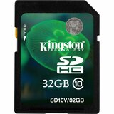 Kingston 32 GB Secure Digital High Capacity (SDHC) SD10V/32GB