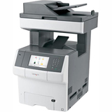 Lexmark X746DE Laser Multifunction Printer - Color - Plain Paper Print - Desktop