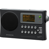 "Sangean WFR-28 Internet Radio - 1.3"" Screen - Wireless LAN - Black WFR-28"