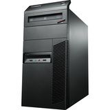 Lenovo ThinkCentre M82 3302B1F Desktop Computer - Intel Core i3 i3-2120 3.3GHz - Tower - Business Black 3302B1F