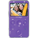 "VistaQuest VQ-9100 Digital Camcorder - 2.4"" LCD - Purple"