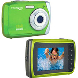 VistaQuest VQ-9100 Digital Camcorder - 2.4&quot; LCD - Green - VQ9100G