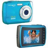 "VistaQuest VQ-9100 Digital Camcorder - 2.4"" LCD - Blue - VQ9100B"