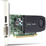 HP Quadro 410 Graphic Card - 512 MB DDR3 SDRAM - PCI Express 2.0 x16 - Half-height A7U60AT