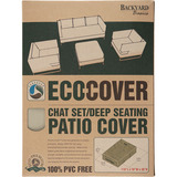 Backyard Basics Eco-Cover Chat Set / Deep Seating Patio Cover