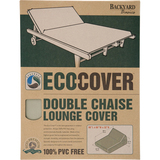 Backyard Basics Eco-Cover Double Chaise Lounge Cover