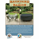Backyard Basics Eco-Cover Large Round Patio Set Cover